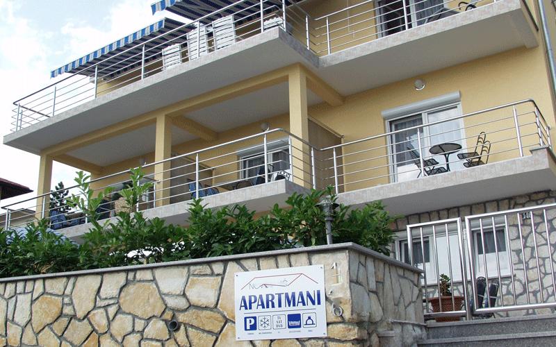 Apartmani Novoselić, Dramalj